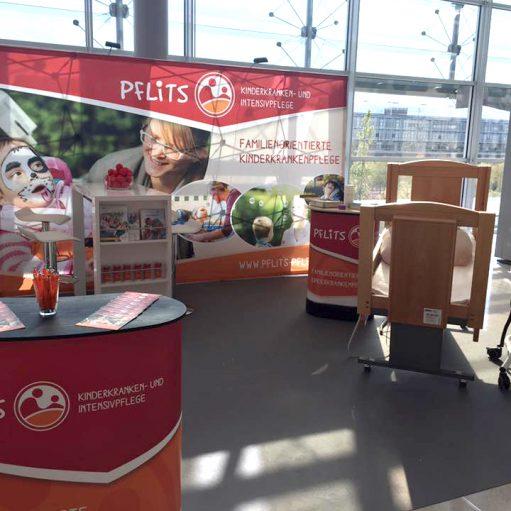 Pflegedienst PFLiTS auf der Messe in Leipzig